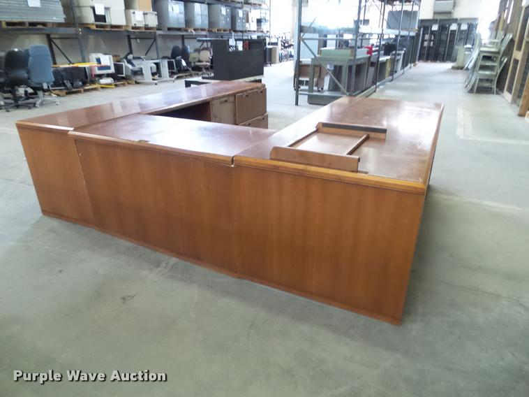 Kimball executive desk