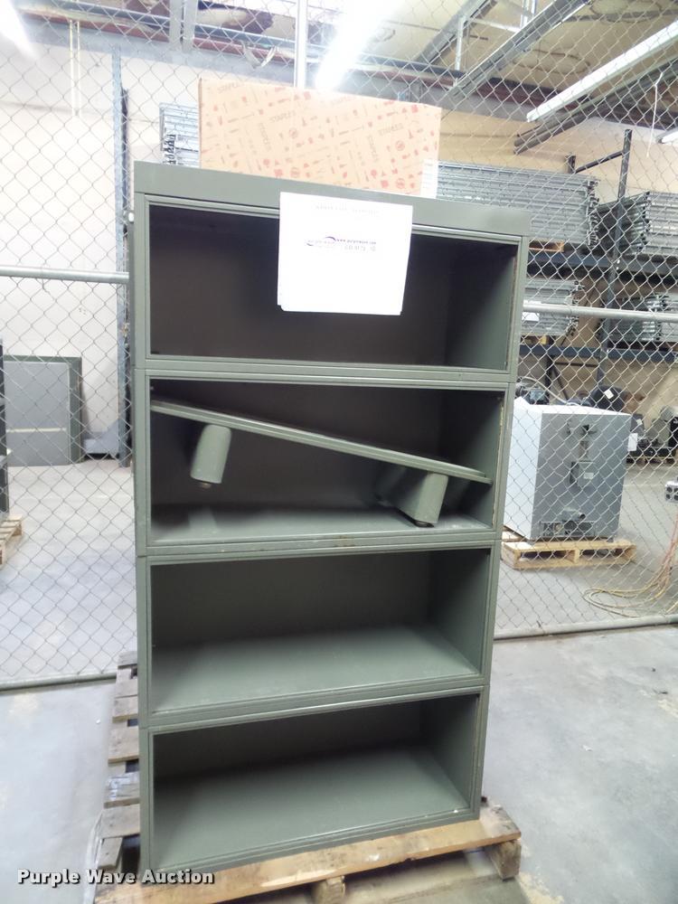 (3) bookcases