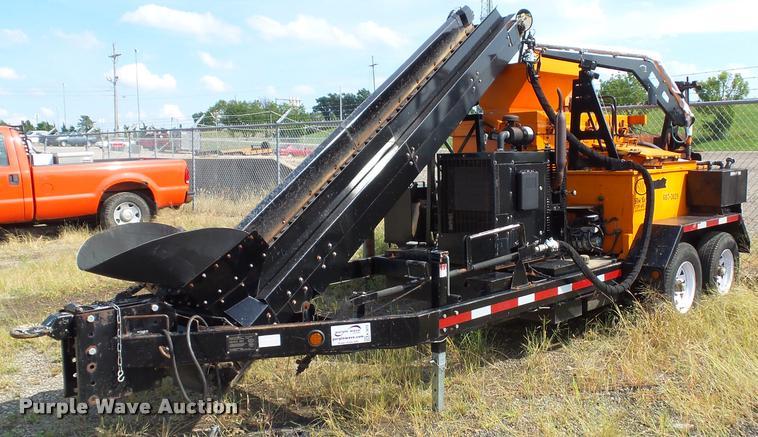 2009 Stepp Manufacturing SRM 10X120 asphalt recycler