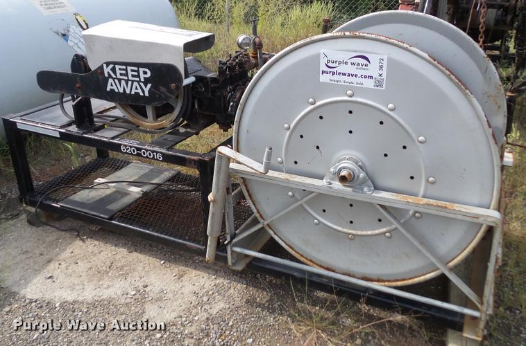 1997 Shop built water blaster pump