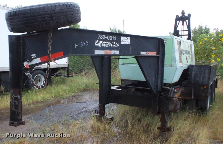 2004 JFW Road Hog trailer with hammer