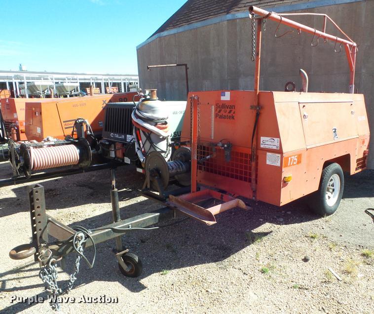 2000 Sullivan D175Q6JD air compressor