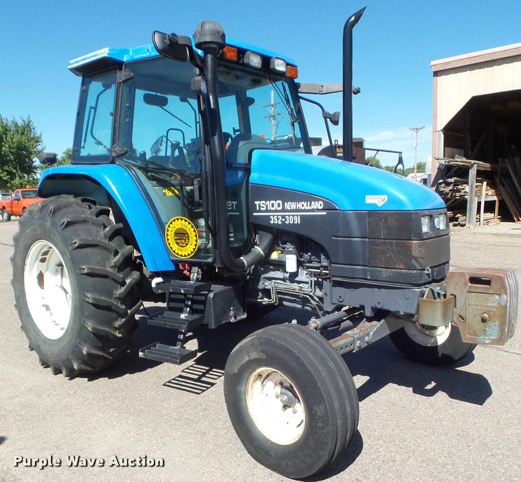 2001 Ford TS100 tractor