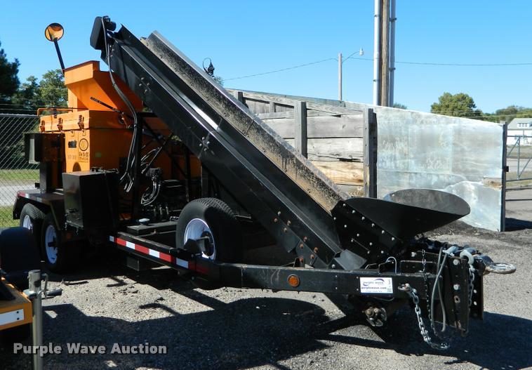2009 Stepp SRM asphalt recycler