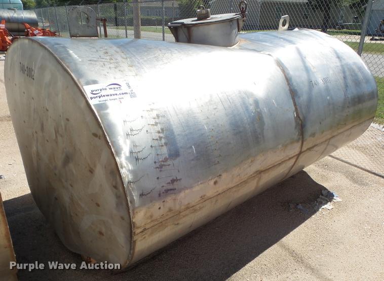 2002 Faubion water tank