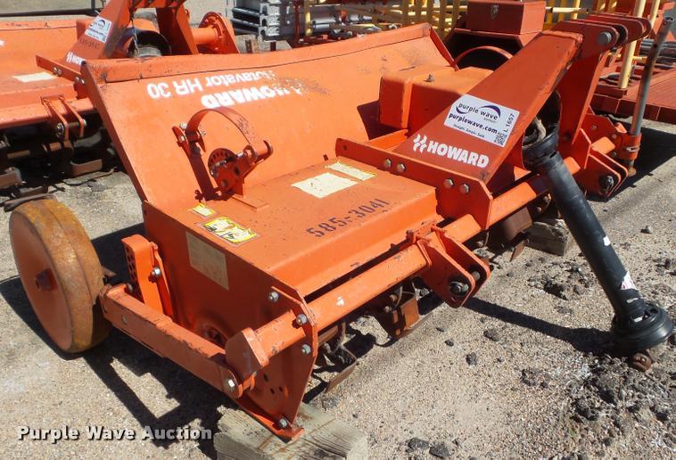 2001 Howard HR30-155WV rotovator