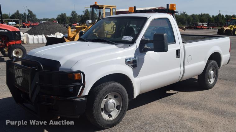 2008 Ford F250 Super Duty pickup truck