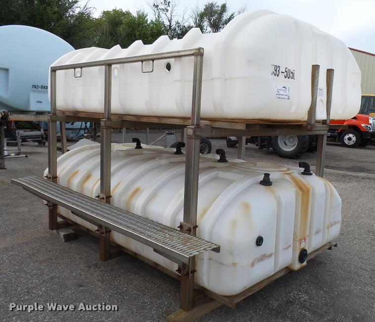 1999 Sprayer Specialties SB1400SS salt brine maker
