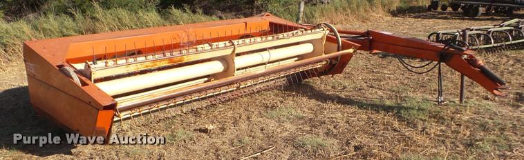 Case 575 windrower
