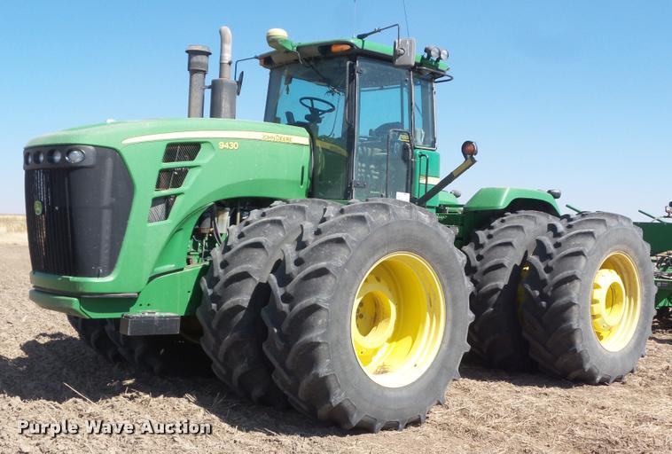 2007 John Deere 9430 4WD tractor
