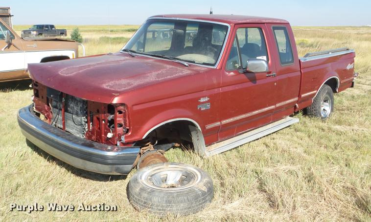 1992 Ford F150 XLT SuperCab pickup truck