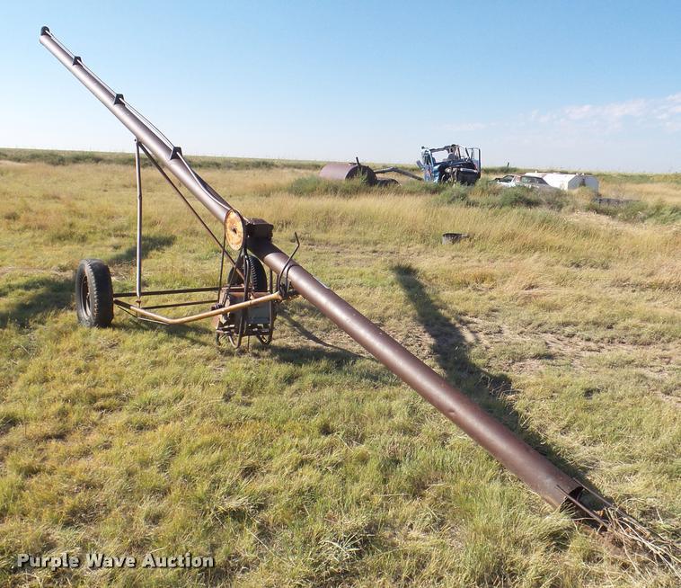 Speed King grain auger
