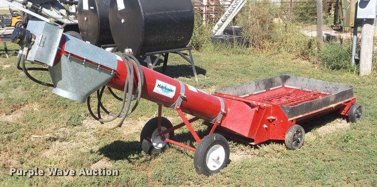 Hutchinson grain auger hopper