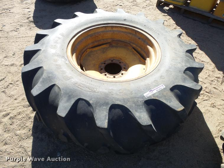 B.F. Goodrich 18.4-26 tire and wheel