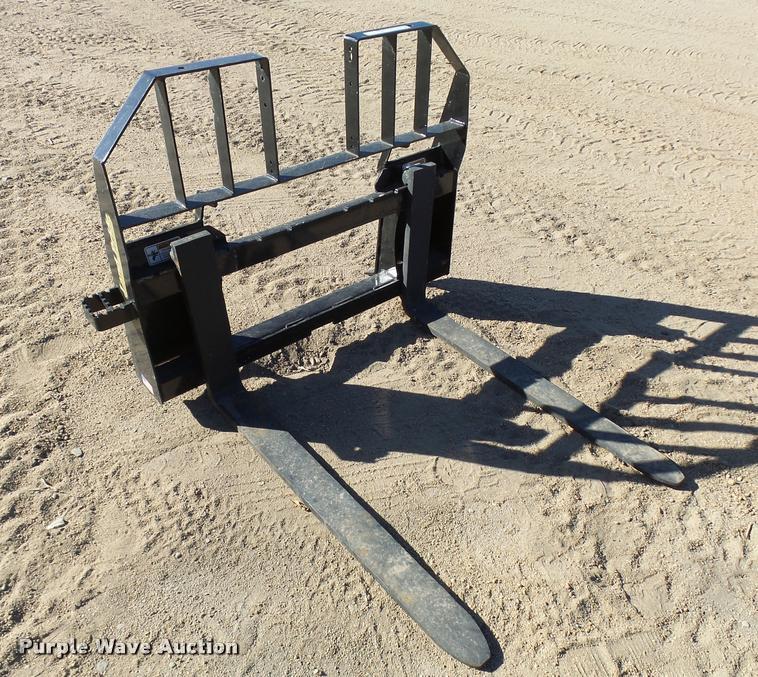 Land Pride PFL3048 skid steer forks