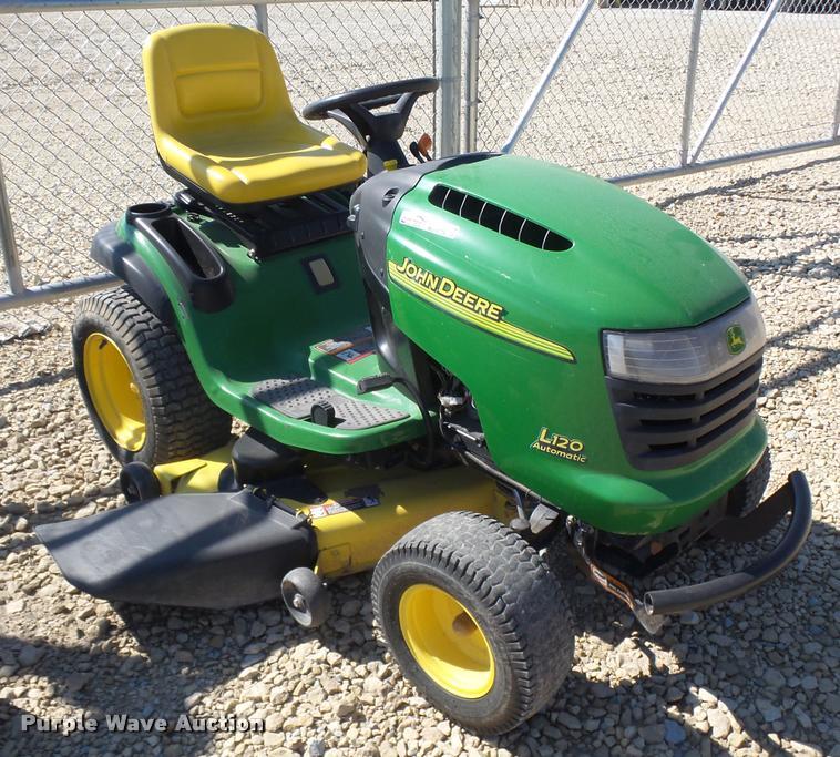 John Deere L120 lawn mower