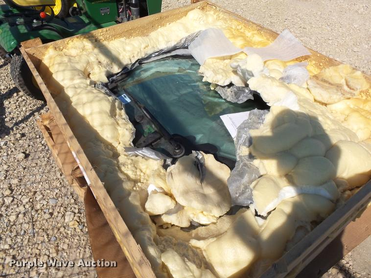 Skid steer door