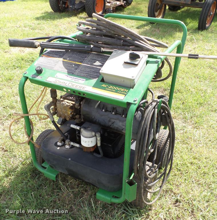 John Deere AC-2000EH pressure washer