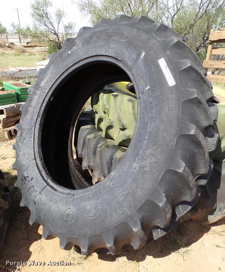 (2) 14.9R30 tires