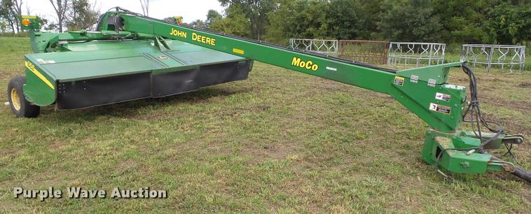 2010 John Deere 956 mower conditioner