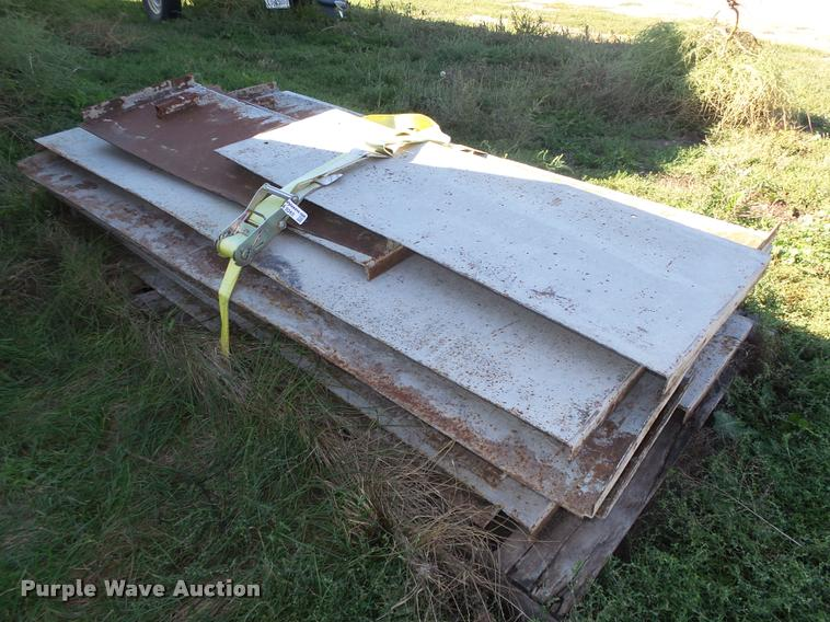 (25) concrete grain bin pad forms