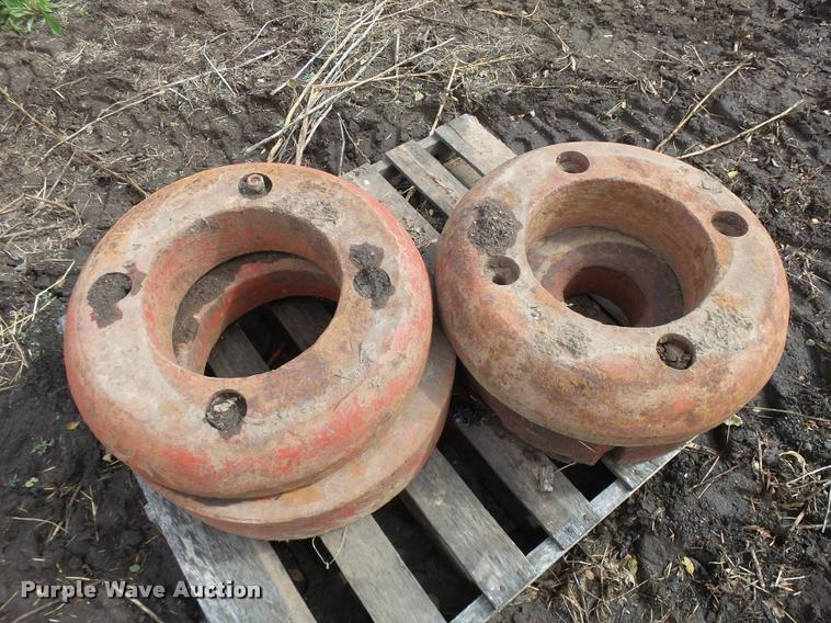 (2) wheel weights
