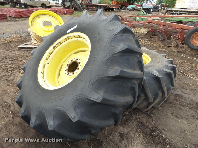 Firestone 23.1-26 dual tractor tire
