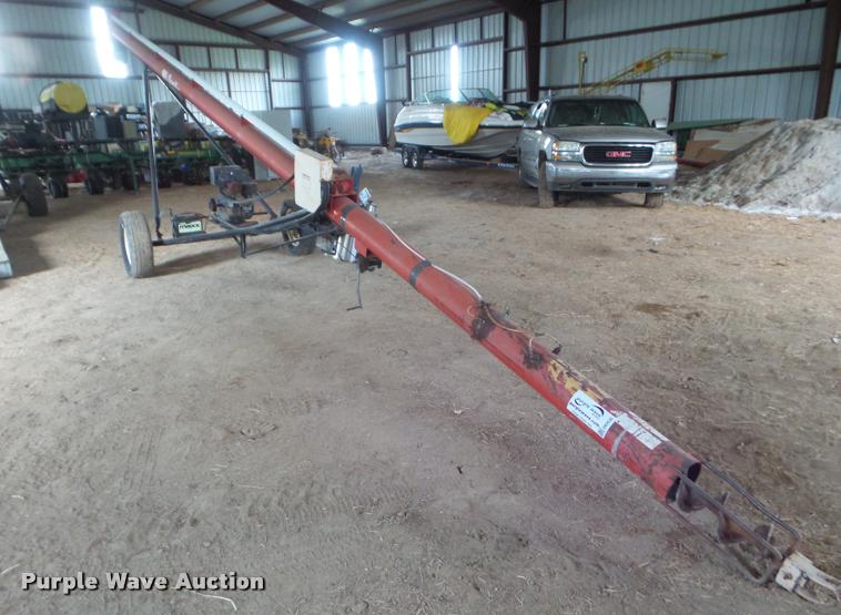 Brush Bandit grain auger