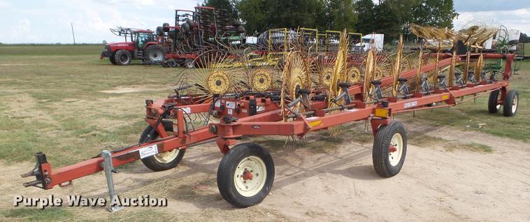 H&S hi-capacity hay rake