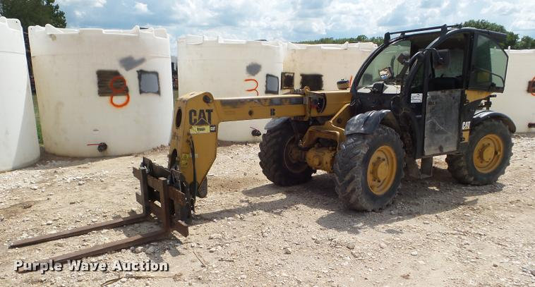 2007 Caterpillar TH215 telehandler