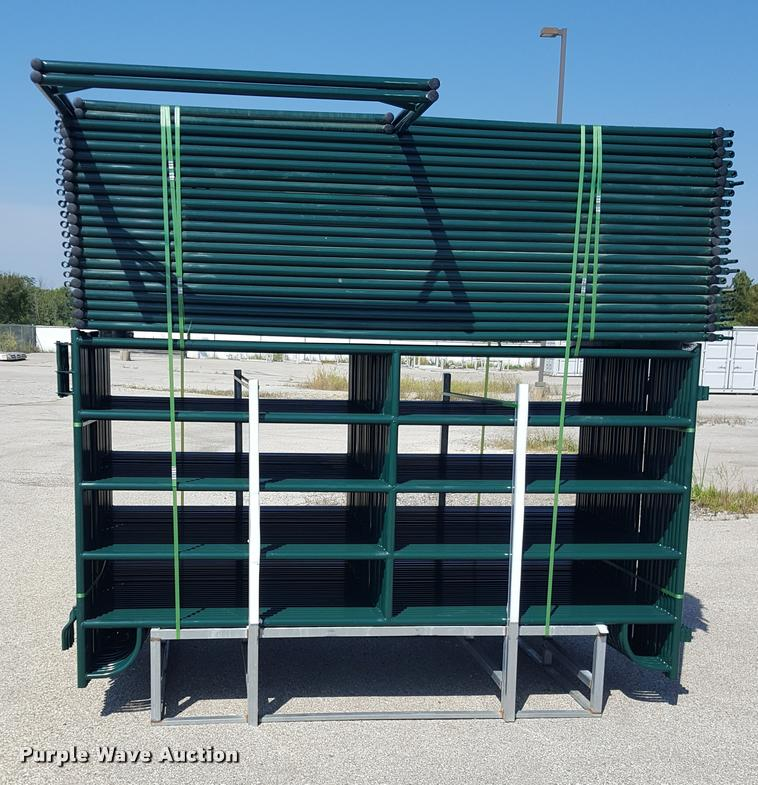 (56) five bar corral panels