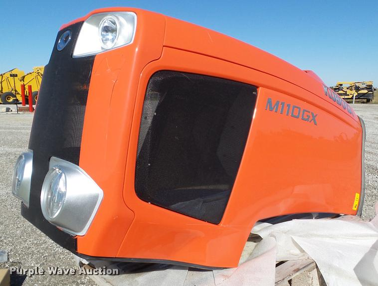 Kubota M110GX hood and seat bottom