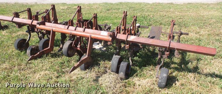 Farmall four row cultivator
