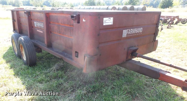Farm Hand F45A manure spreader
