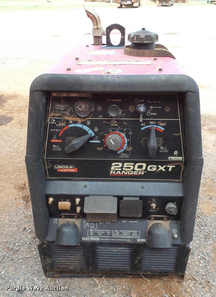 Lincoln Ranger 250GXT welder