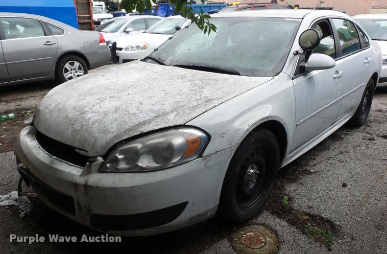 2012 Chevrolet Impala Police Cruiser