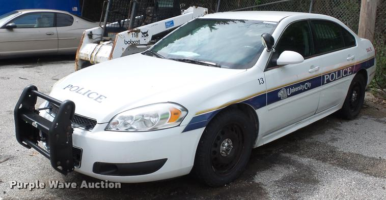 2013 Chevrolet Impala Police Cruiser