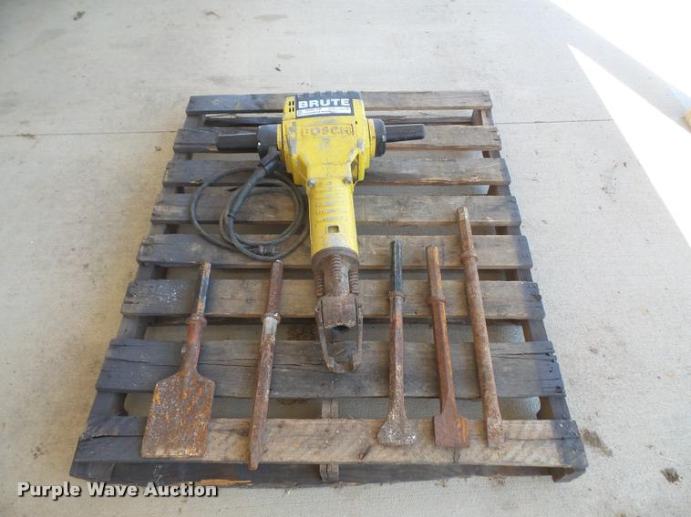Bosch Brute jack hammer