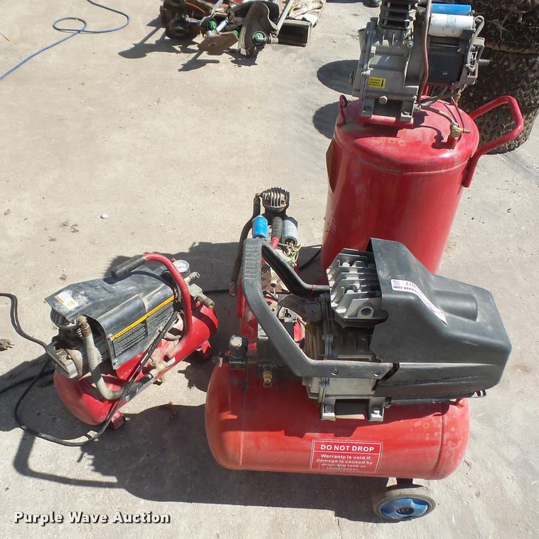 (4) air compressors