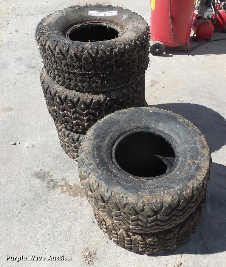 (5) 24x9.50-10 NHS tires