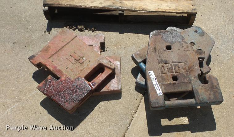 (5) suitcase weights