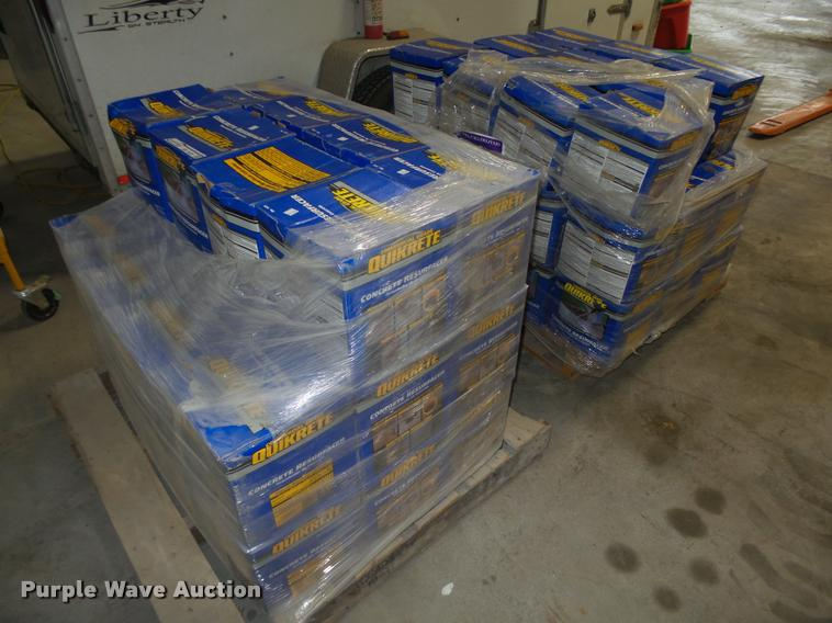 (66) boxes of Quikrete concrete resurfacer