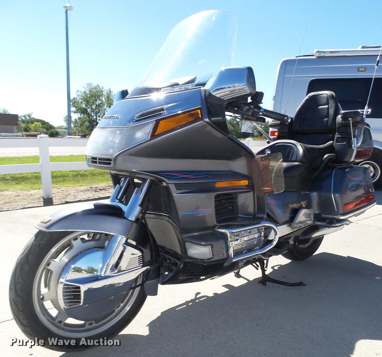 1988 Honda Gold Wing GL1500 motorcycle