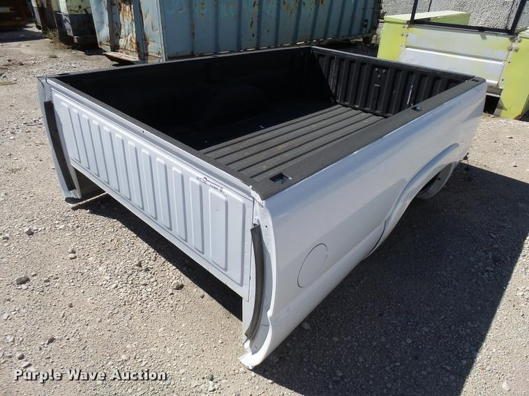 Chevrolet Silverado pickup truck bed