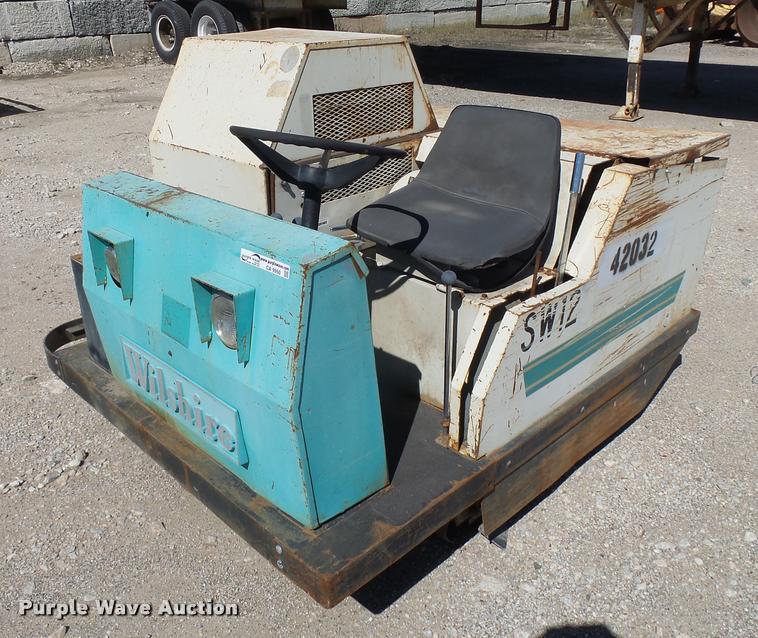 Wilshire 1600 sweeper