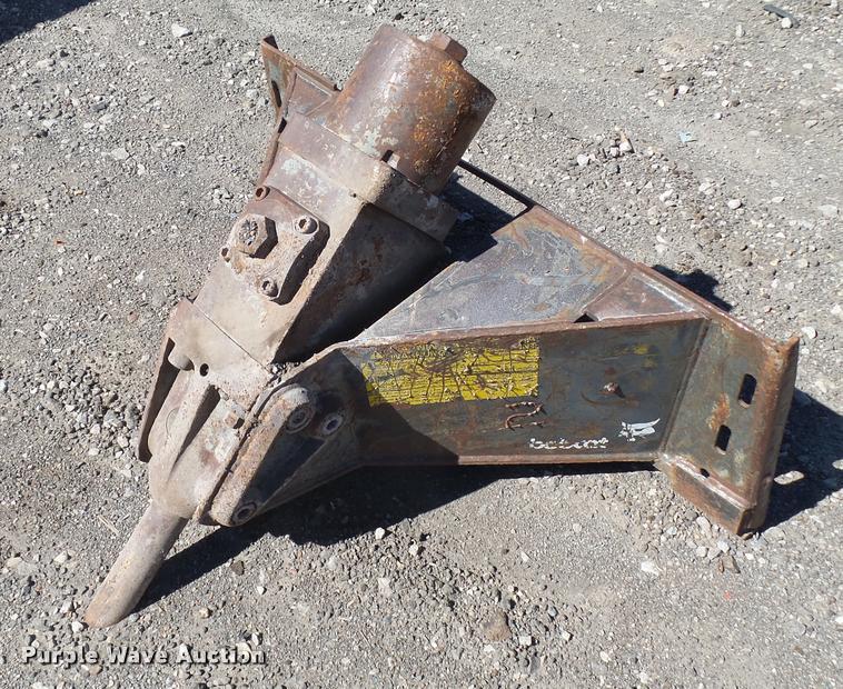 Bobcat skid steer breaker