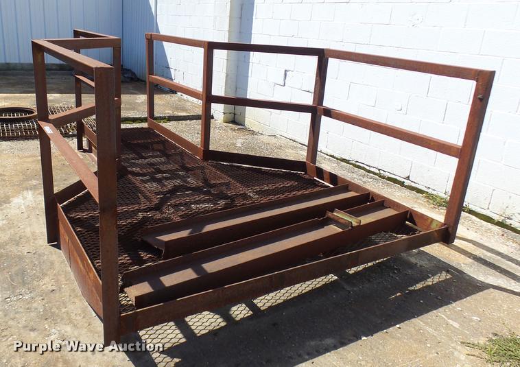 Steel dock