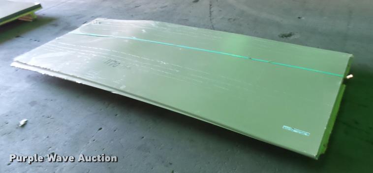 (25) sheets of metal