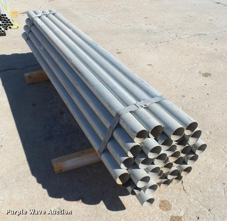 (36) galvanized pipes