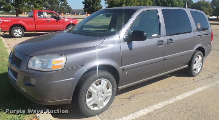 2007 Chevrolet Uplander LS Ext. van